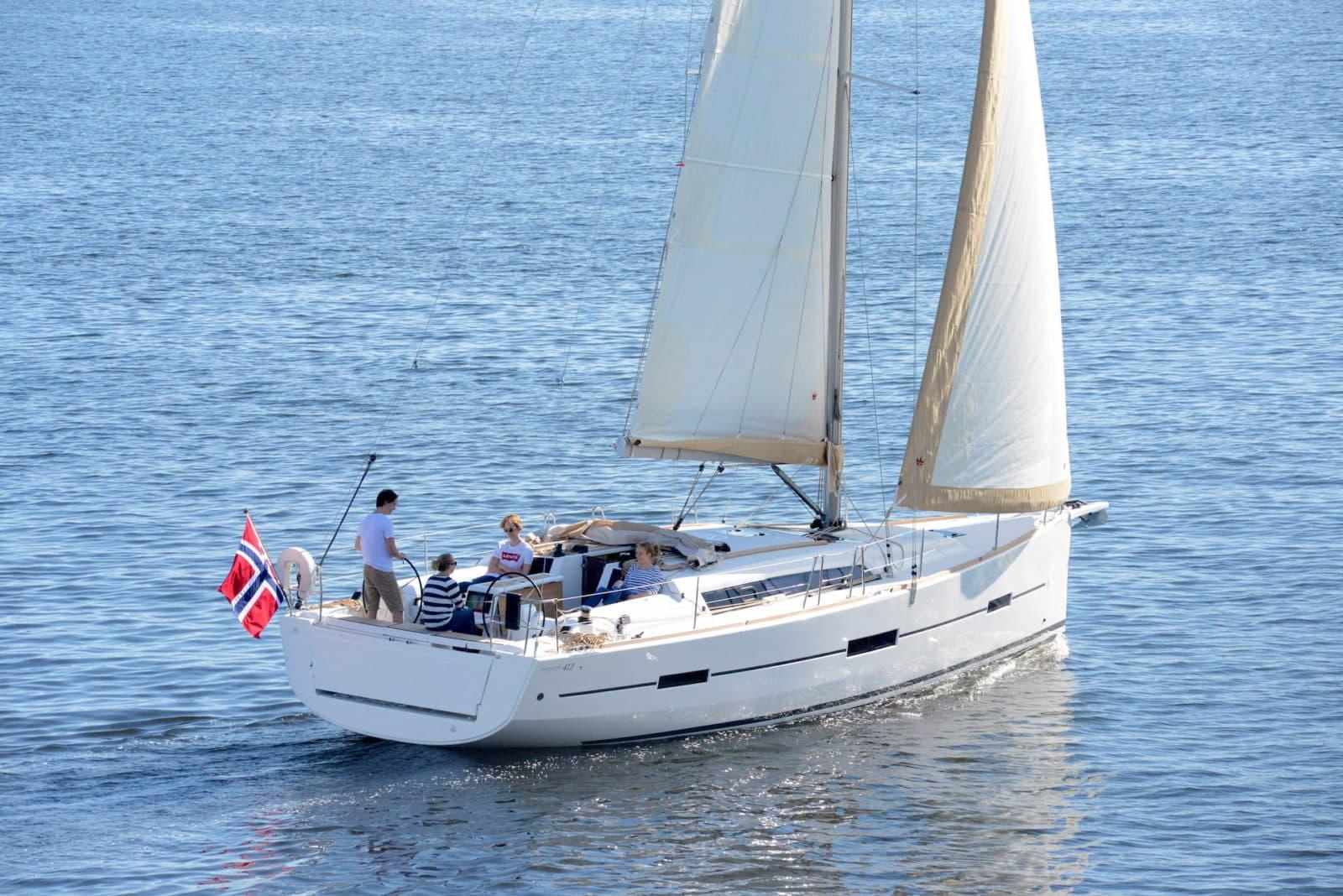 Dufour 412 GL en navigation