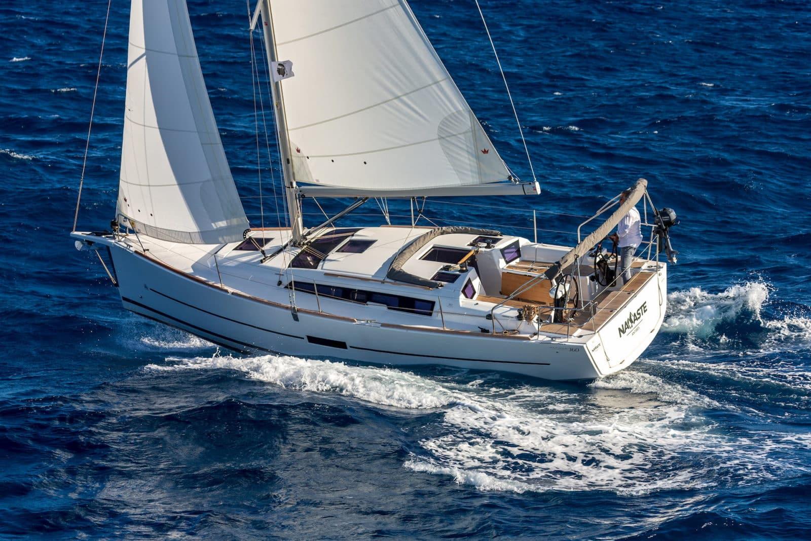 Voilier Dufour 360 grand large navigation