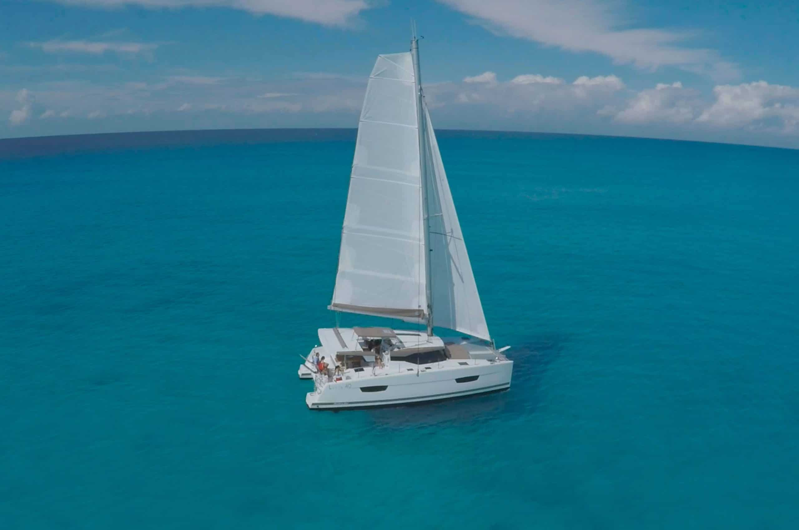 Location catamaran corse Lucia 40