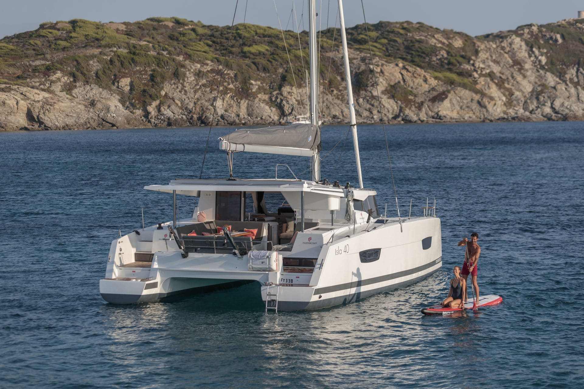 Location et vente Isla 40 catamaran Fountaine pajot