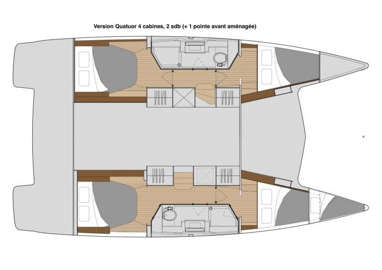 Isla 40 version quatuor 2 sdb