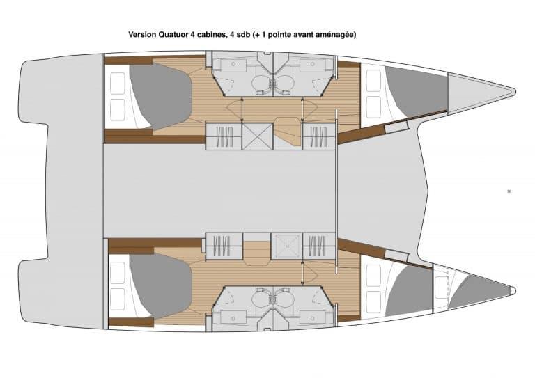 Isla 40 version Quatuor 4 sdb
