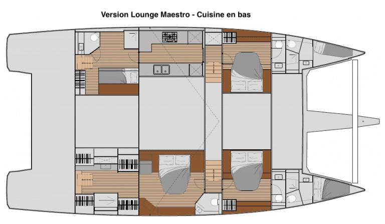 Samana 59 Lounge Maestro cuisine bas