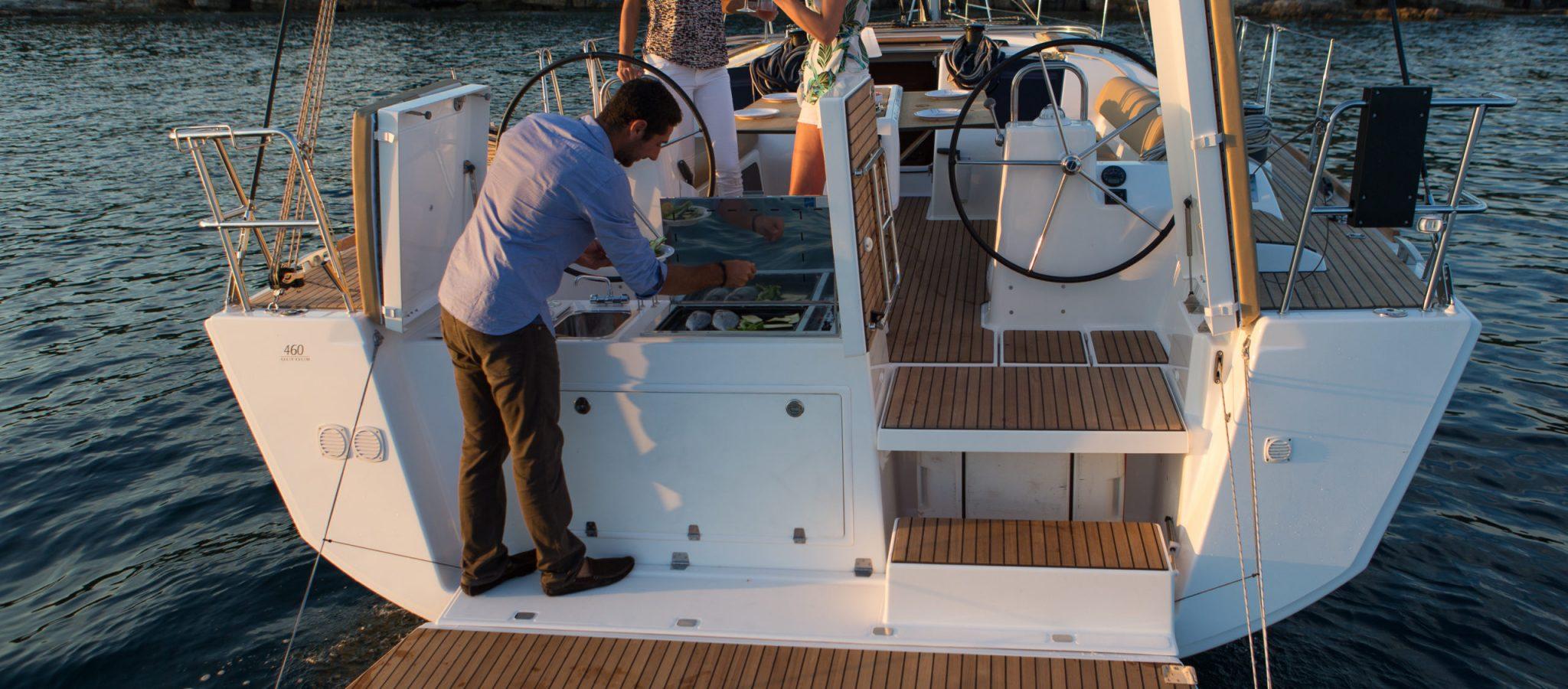 Cannes, 01/09/2015. Photoshoot new Dufour Yachts model, Dufour 460, Photo © Jean Marie Liot / Dufour Yachts