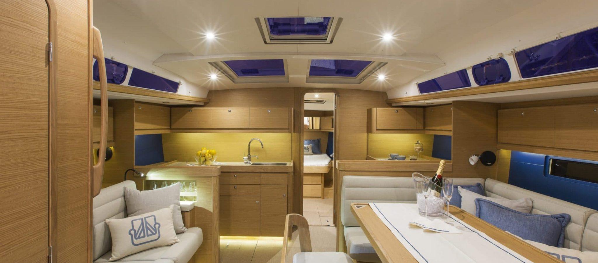Cannes, 31/08/2015. Photoshoot new Dufour Yachts model, Dufour 460, Photo © Jean Marie Liot / Dufour Yachts