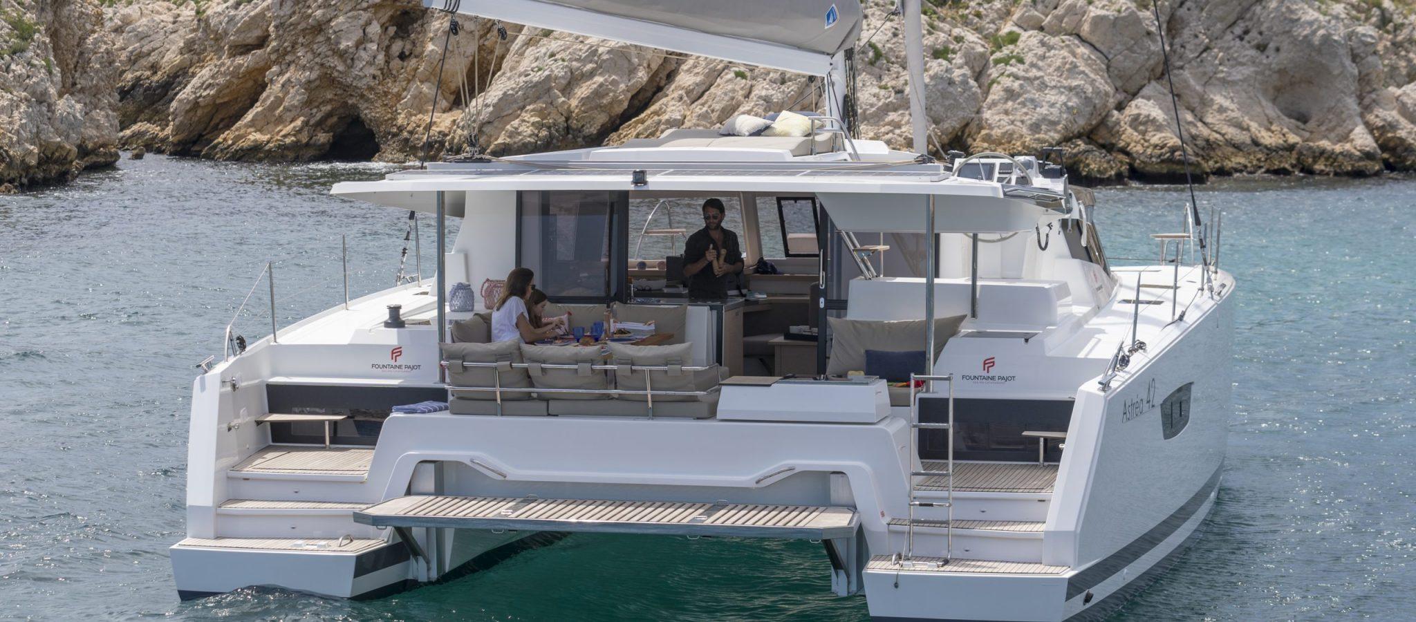 12/06/2018, Marseille (FRA,13), Chantier Fountaine-Pajot, Astrea 42