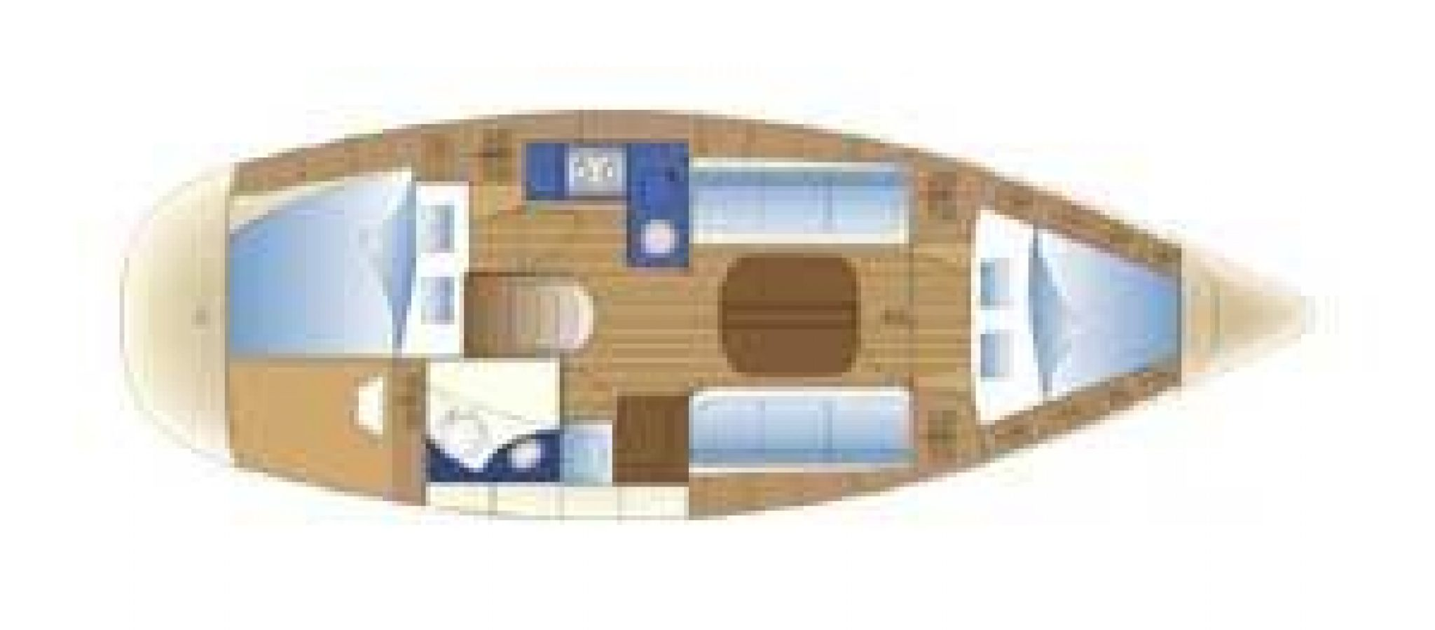 Bavaria 32 cruiser plan 32 cabines