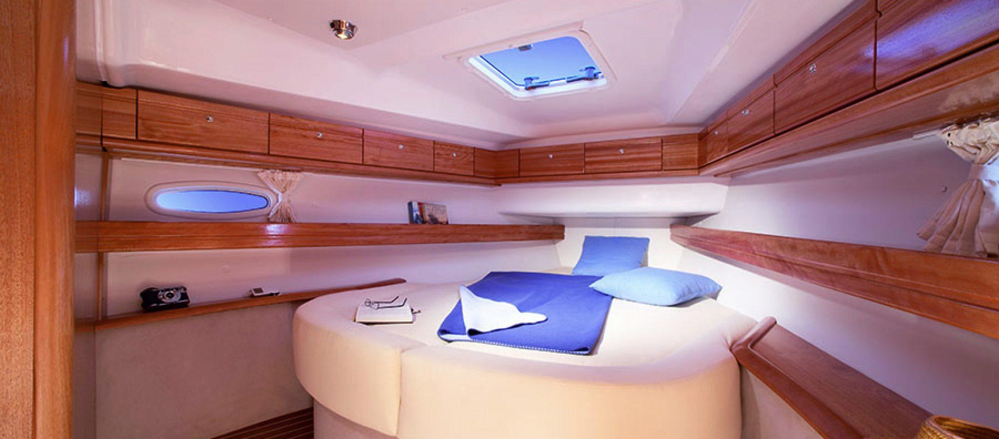 Bavaria 46 cruiser cabine