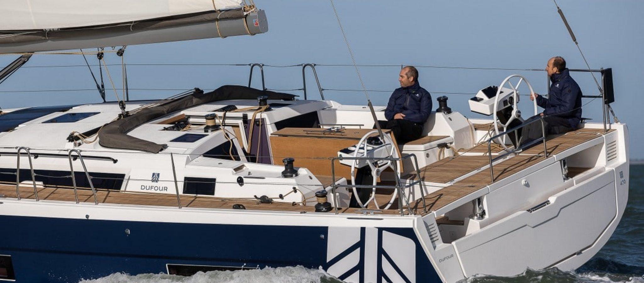 Dufour 470 en navigation