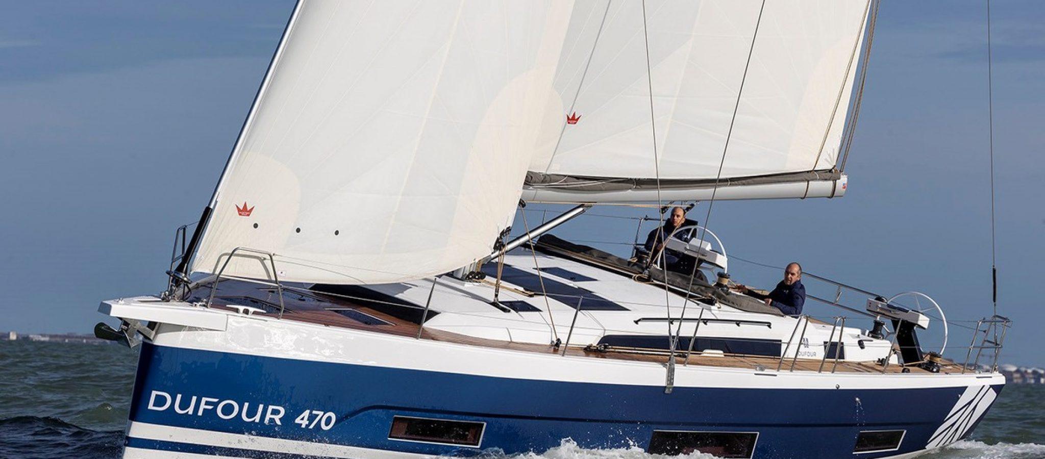 Dufour 470 essai en mer