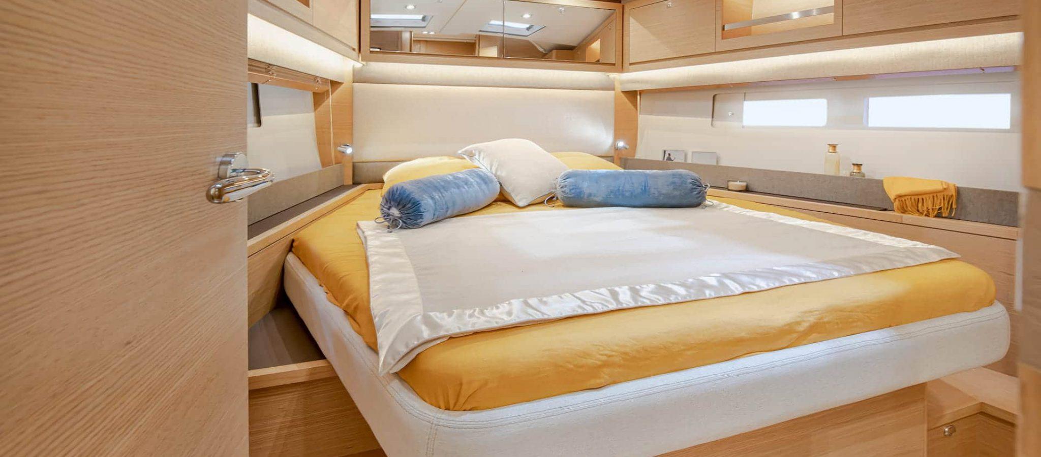 Dufour 530 master cabine
