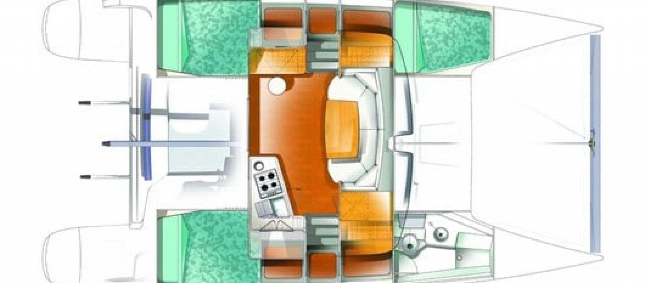 FP Mahe 36 plan 3 cabines