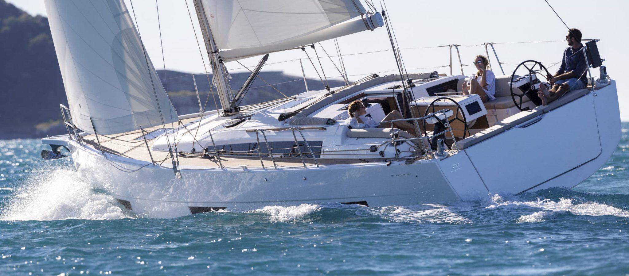 Dufour 390 Grand Large en navigation