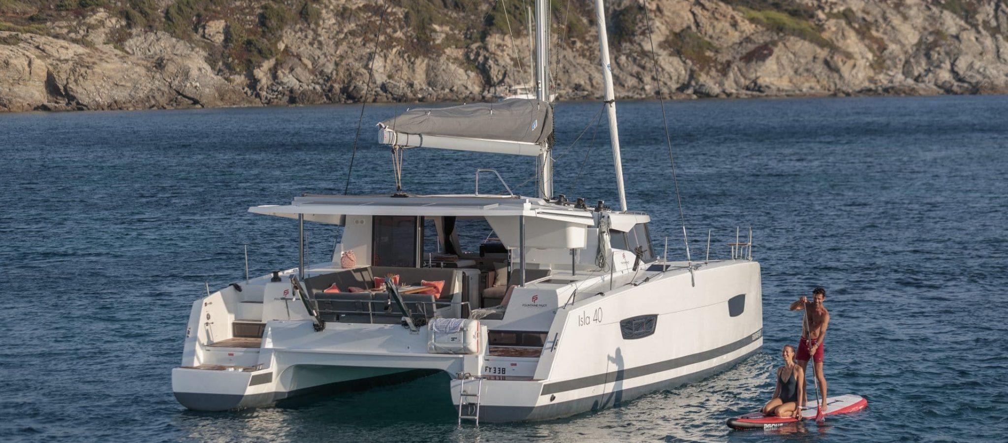 Location et vente Isla 40 catamaran Fountaine pajot