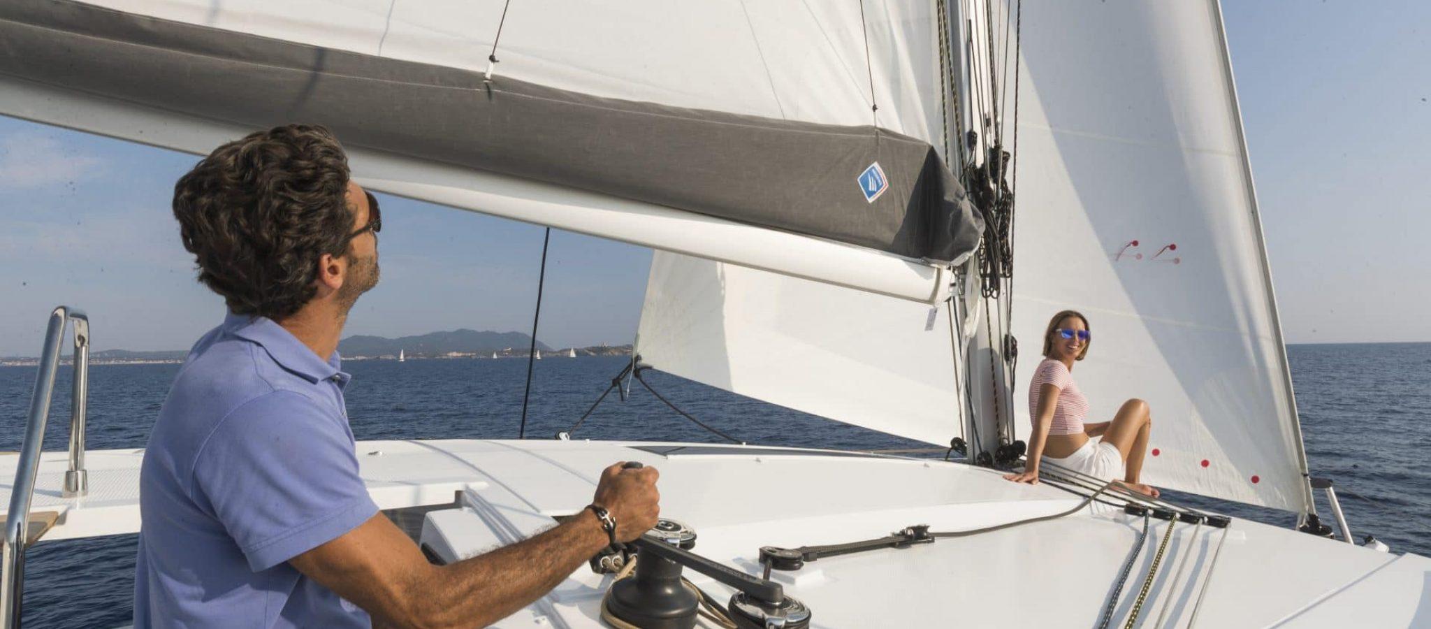 Location et vente Isla 40 catamaran à voile