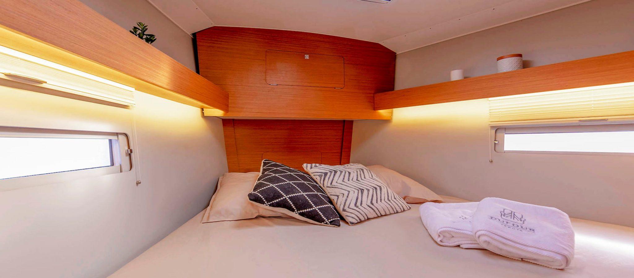 Location voiliers dufour 390 gl cabine