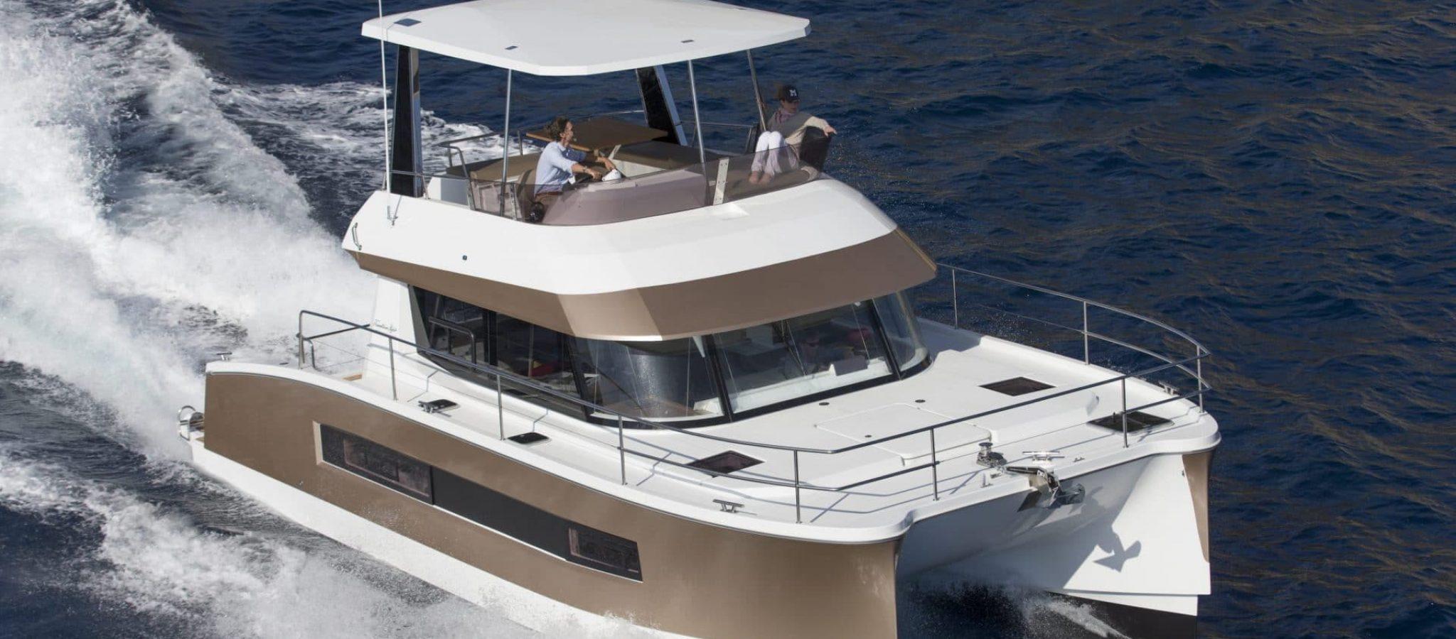 08/04/2015, Andraitx (Isla de Mallorca, Islas Baleares, ESP), Chantier Fountaine-Pajot, Motor Yacht 37