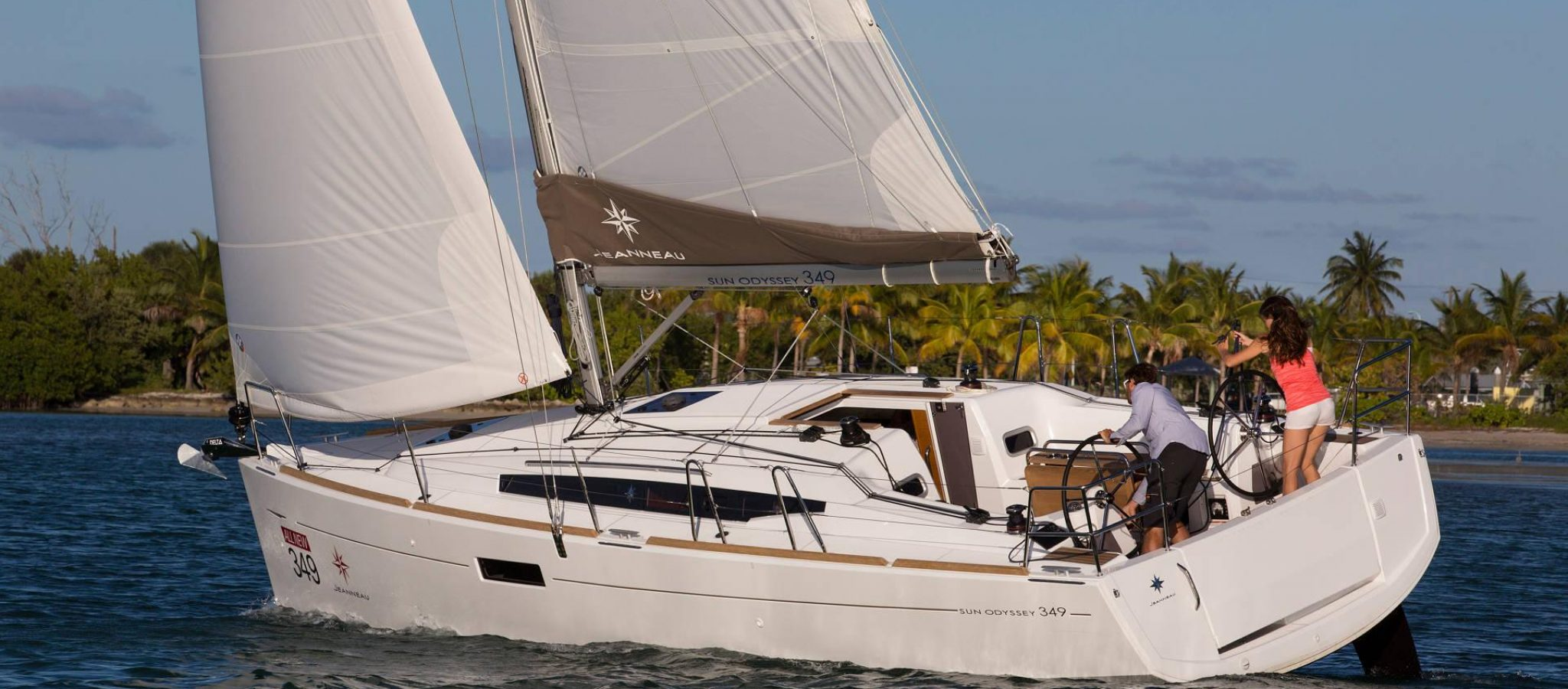 Sun Odyssey 349 Navigation