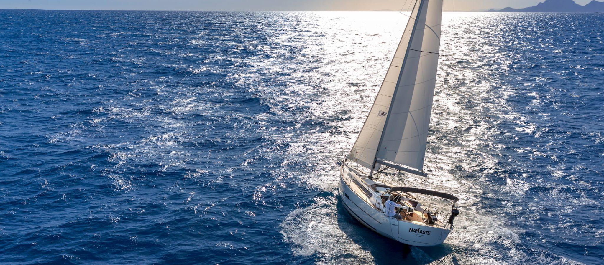 Voilier Dufour 360 grand large navigation 1