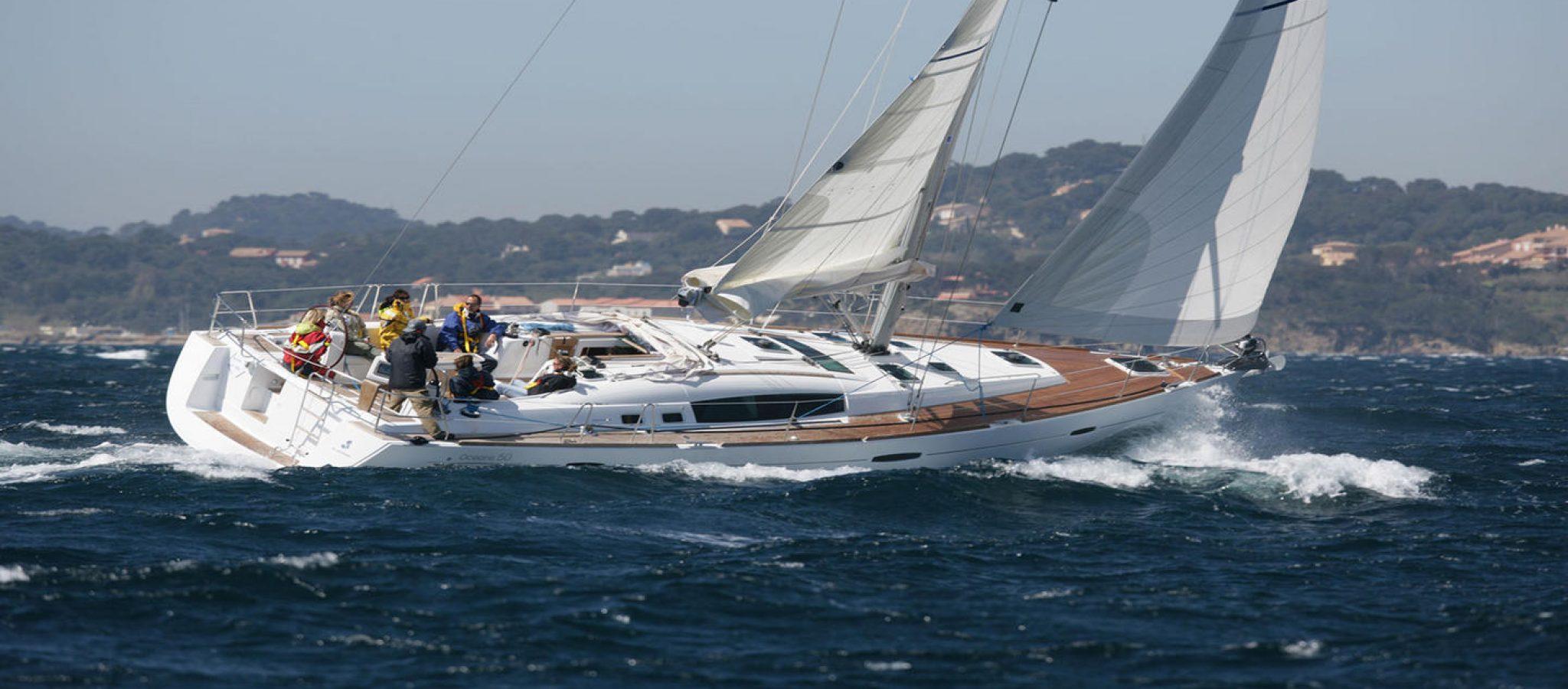oceanis-50 navigation yacht