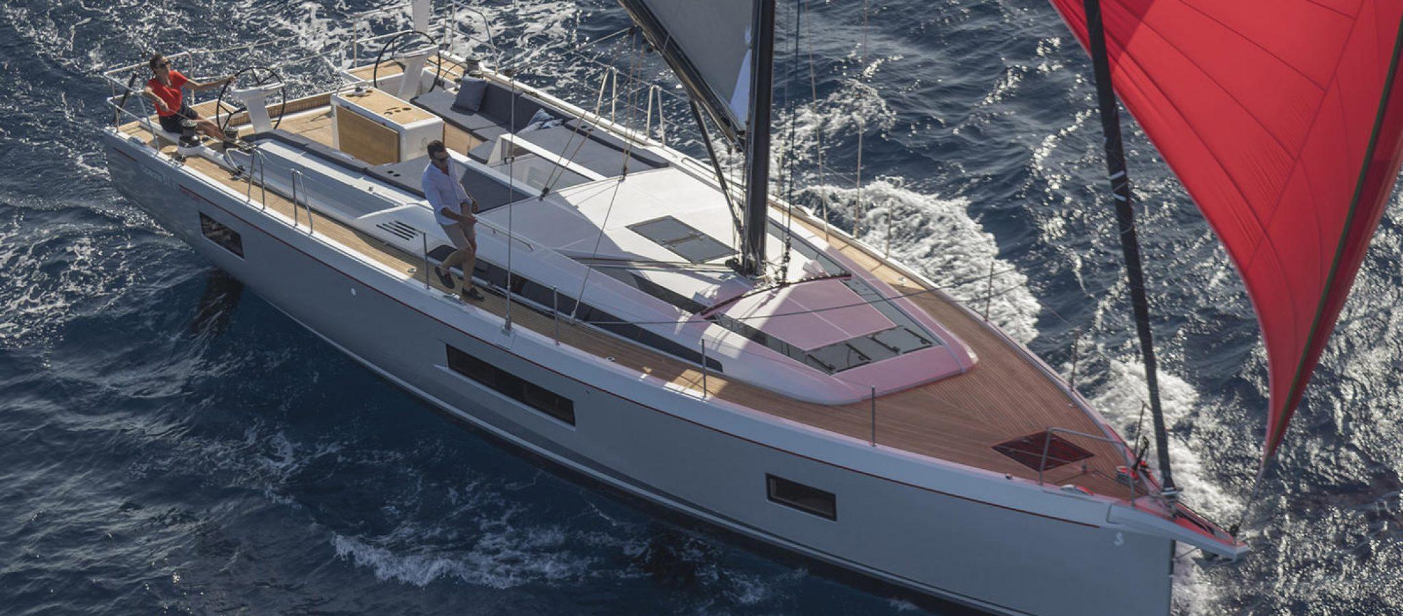 oceanis51 en navigation