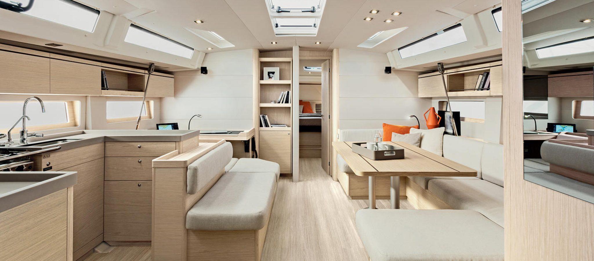 oceanis51.1 interieur yachts